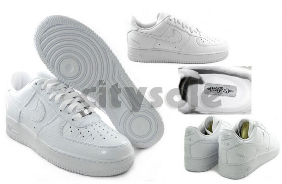 Nike Air Force 1 - HTM Fragment - White - 2008 - SneakerNews.com  Htm on