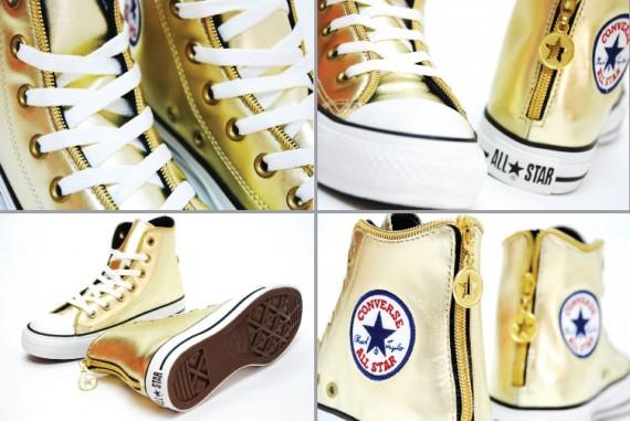 Converse Chuck Taylor AS Zipper Hi OX GOLD