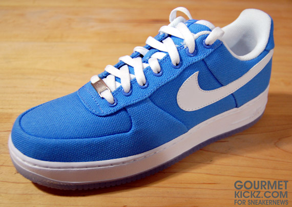 Nike Air Force Basse Blu Scuro