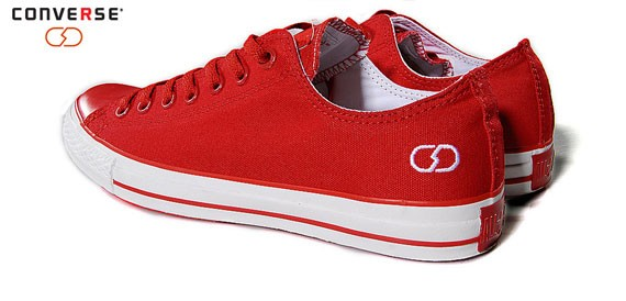 Converse (Product) Red x Fragment Design Red Version
