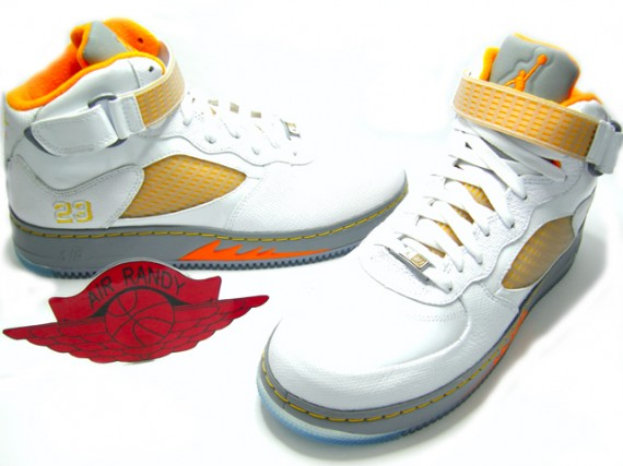 511dfe2b5296a2 Air Jordan Force V (AJF 5) Fusion - White Orange Peel - SneakerNews.com