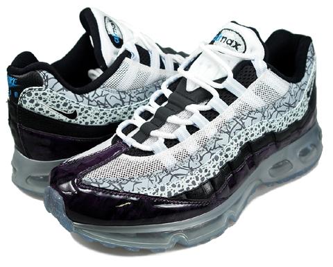 san francisco 874d8 450b1 Nike Air Max 95 360 Black Black Blue Ice New Blue good
