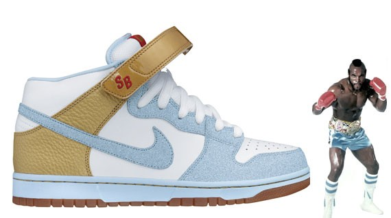 Nike Dunk Mid Pro Sb Clubber Lang White Ice Blue