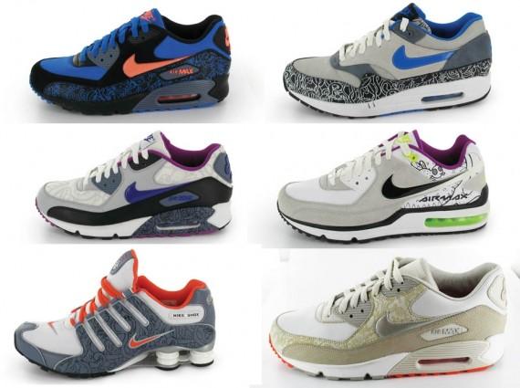 quality design 31497 bae54 Nike x Jon Burgerman - Magnificent 7 Pack - SneakerNews.com