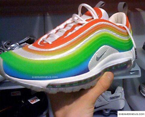 6790de26512 Nike Air Max 97 Lux - Rainbow - SneakerNews.com