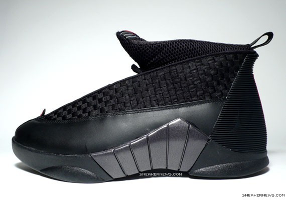 best website b6987 e95ea Air Jordan XV Retro – Black Varsity Red
