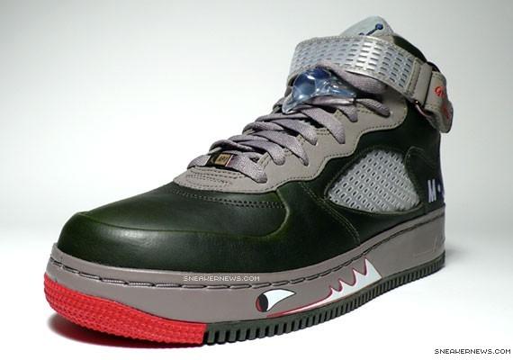 Air Jordan Force V - Premier - Grey Nurse