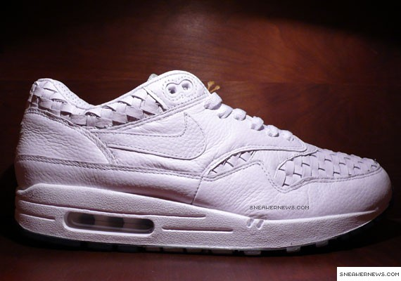 hot sale online cf366 4313f Nike Air Max 1 - White Woven