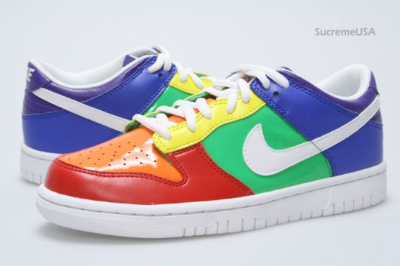Nike Dunk Low GS - Rainbow - SneakerNews.com e14f98131