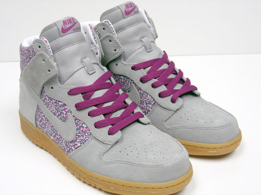 brand new 77ac7 49de0 new Nike WMNS Dunk High Liberty Fabric Pack Now Available