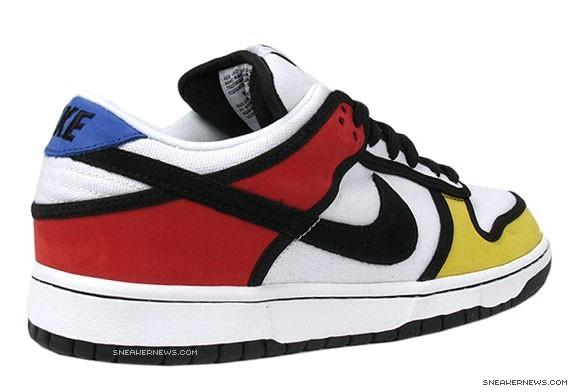 Nike SB Dunk Low Pro - Piet Mondrian