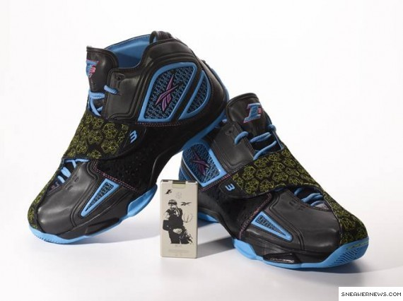 """a980c0ce04d Reebok and Zune have teamed up for the first time to bring you a limited  edition Allen Iverson aka """"The Answer"""" sneaker – the Answer XI Zune."""