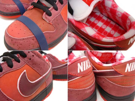 Nike Dunk Low Pro Sb Red Lobster Sport Red Pink Clay Sneakernews Com