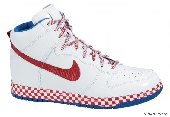 lowest price 98c8f e22da Nike Dunk High Supreme '08 - Euro Champs - Croatia ...