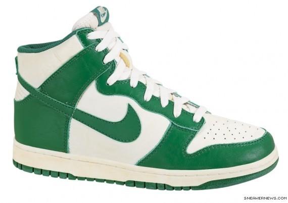 nike dunk high green
