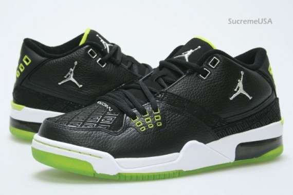 f7fc2e20b665 Air Jordan Flight 23 - Black - Bright Cactus - SneakerNews.com