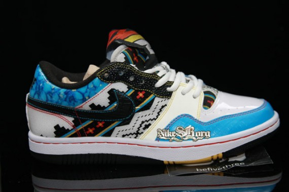 Nike Court Force Low Native American Inspired