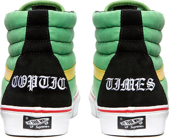 78eee35c83 Vans Sk8 Hi x Supreme x Bad Brains - SneakerNews.com