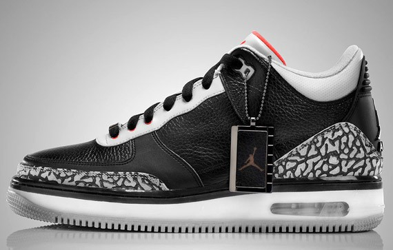 newest 2e540 e5ad4 Air Jordan Force III (3) - White & Black Cement - Sept 08 ...