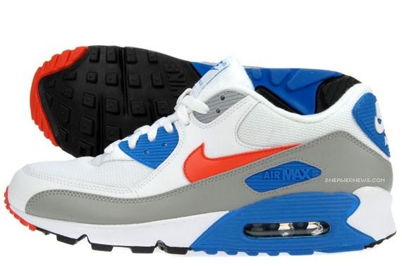 Nike Air Max 90 - Sunburst - Dutch Blue