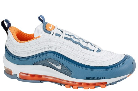 finest selection a8e18 a5eaa Nike Air Max 97 - Tart - Clay Blue - Rebel Pack