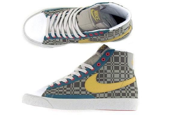Nike Blazer Mid WMNS - Canvas - Olive Khaki
