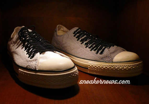 Converse Chuck Taylor John Varvatos - Vintage White & Grey - Multi-Eyelet