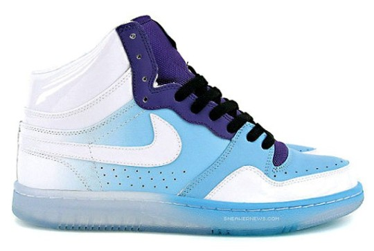 Nike Court Force High – White – Blue Chill – Purple
