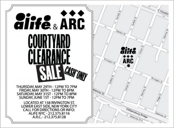 Courtyard Clearance Sale