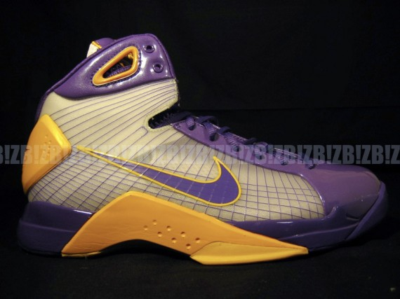 1853d8fd9869 Nike Hyperdunk Kobe Bryant PE - White - Maize - Purple - Released -  SneakerNews.com