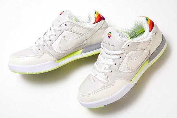 Nike SB P-Rod - Fuji Rod - White - Rainbow