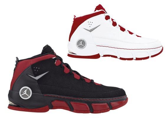 Air Jordan CP (Chris Paul) - Black Red