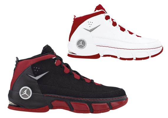 online store d759e 0280e Air Jordan CP (Chris Paul) - Black Red + White Red