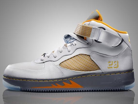 477710e711c783 Air Jordan Force V (5) Fusion - White Orange Peel - Now Available ...