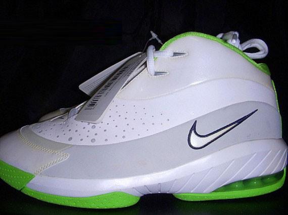 Nike Air Flight Skool Kevin Durant White Radiant Green SAMPLE