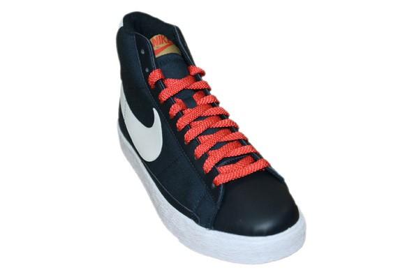 Nike Blazer High - Dark Obsidian - White - Sunburst