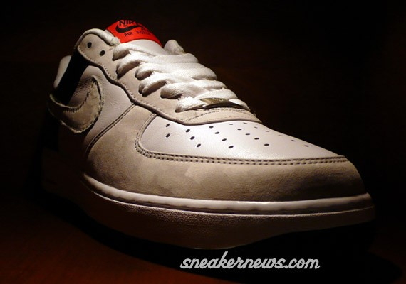 Nike Air Force 1 - Infrared