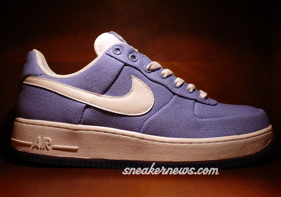 Nike Air Force 1 - WMNS - Purple Frost - White