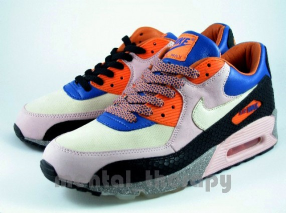 detailed look ba3fc 05fc4 Nike Air Max 90 - King of the Mountain - Mowabb Inspired