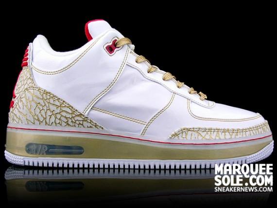 Air Jordan Force III (AJF 3) Premier - White Patent - Metallic Gold - Varsity  Red - SneakerNews.com c940472d01a3
