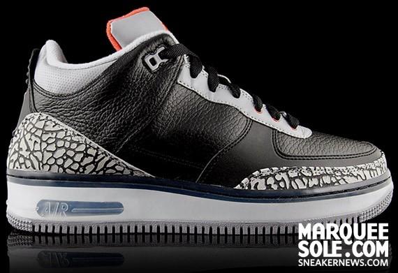 premium selection 252f4 4533c Air Jordan Force III (AJF 3) - Black Cement - SneakerNews.com