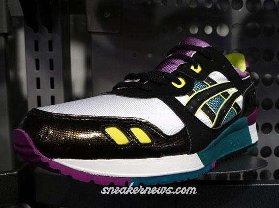 Asics Gel Lyte III - Footlocker Exclusive - White - Black - Purple -  SneakerNews.com c59314b345