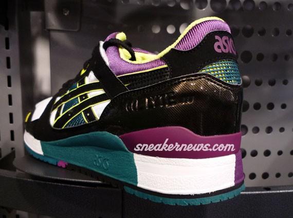 Asics Gel Lyte III - Footlocker Exclusive - White - Black - Purple ... c83e75cb69
