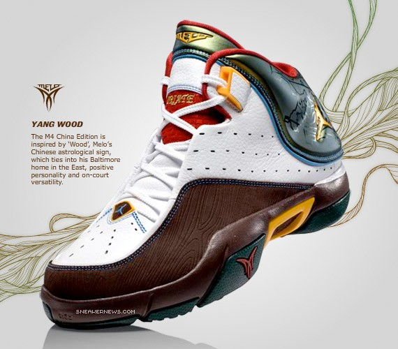 Jordan Melo M4 China Edition