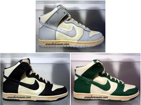Nike Vintage Dunk High - Summer 08 Collection - SneakerNews.com 90f585c75f6d