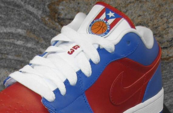 Air Jordan 1 Low PHAT Puerto Rico National Team