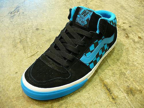 a2464652543ade Vans Skate Signature Models Summer 08. (Above  VANS TNT II MID Checkered  Past Black Blue)