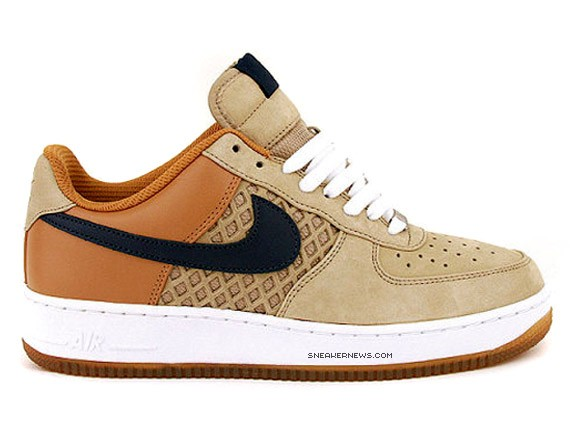 dirt cheap professional sale differently Nike Air Force 1 Premium - Birds Nest - Tweed - SneakerNews.com