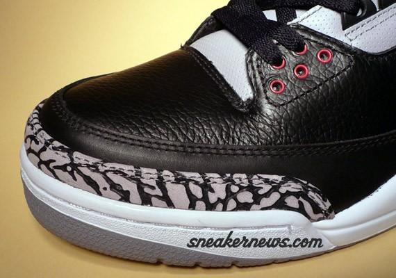 on sale Air Jordan III 3 Retro Black Cement Countdown Pack ... 6b78fc92d