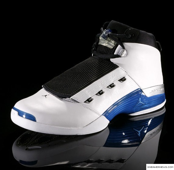 Air Jordan XVII (17): 2001-02